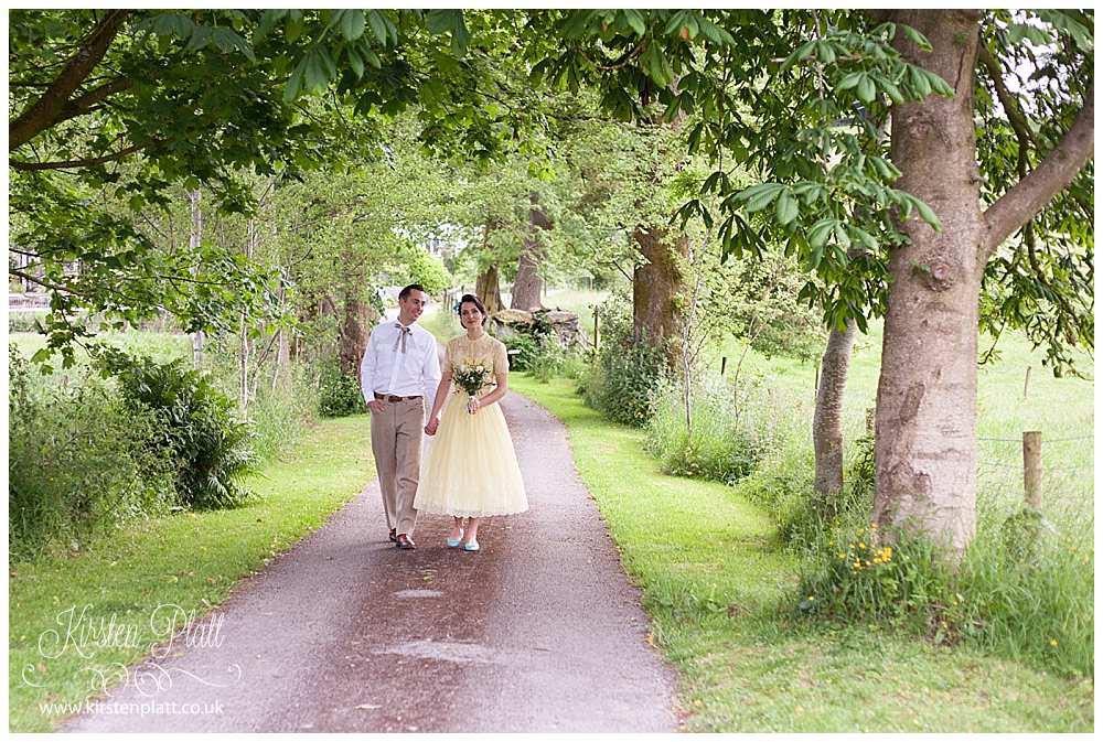 1940's vintage wedding in Kendal