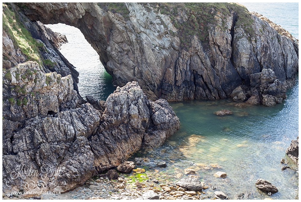 The White Arch Anglesey