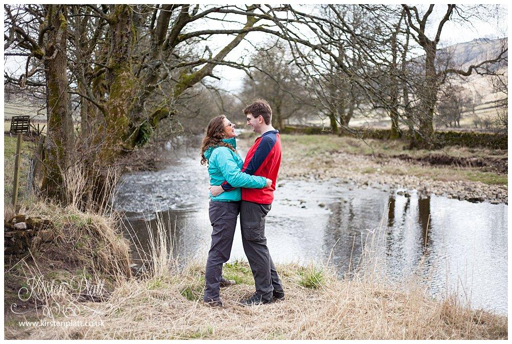 Starbotton Engagement photoshoot