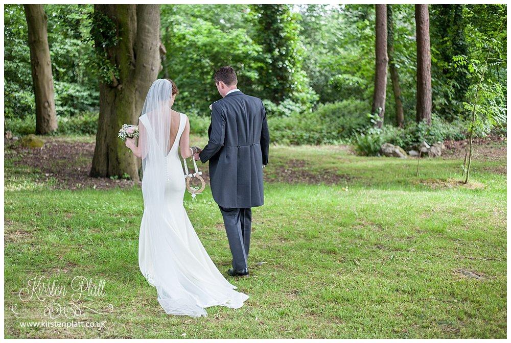 Bride and Groom the grange Hotel - grange over sands