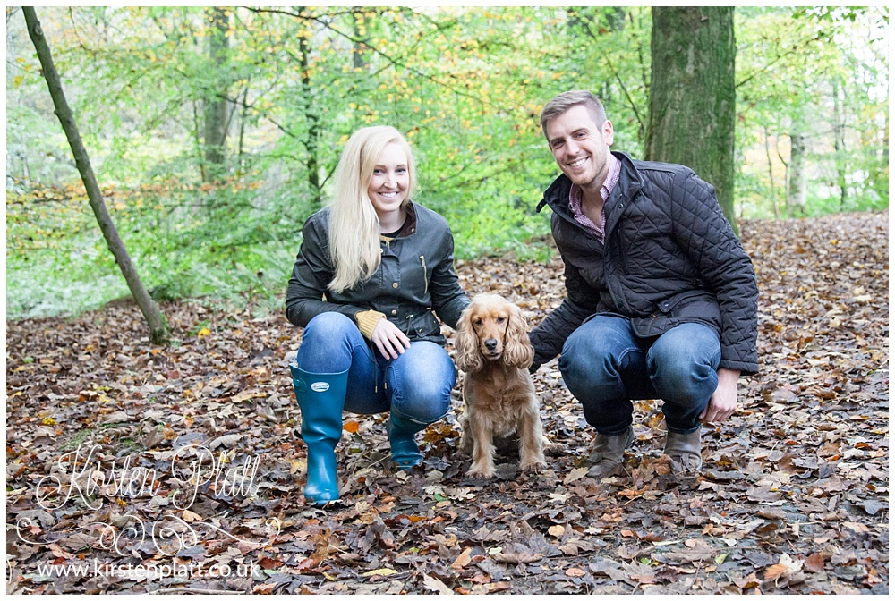 Whalley Woods Jodie Barnaby and Pepper the dog