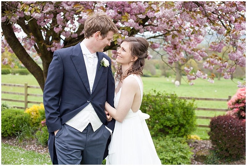 Shireburn Arms wedding, spring wedding, Cherry blossom wedding