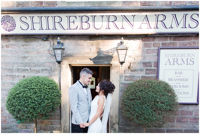 Shireburn Arms Country Wedding