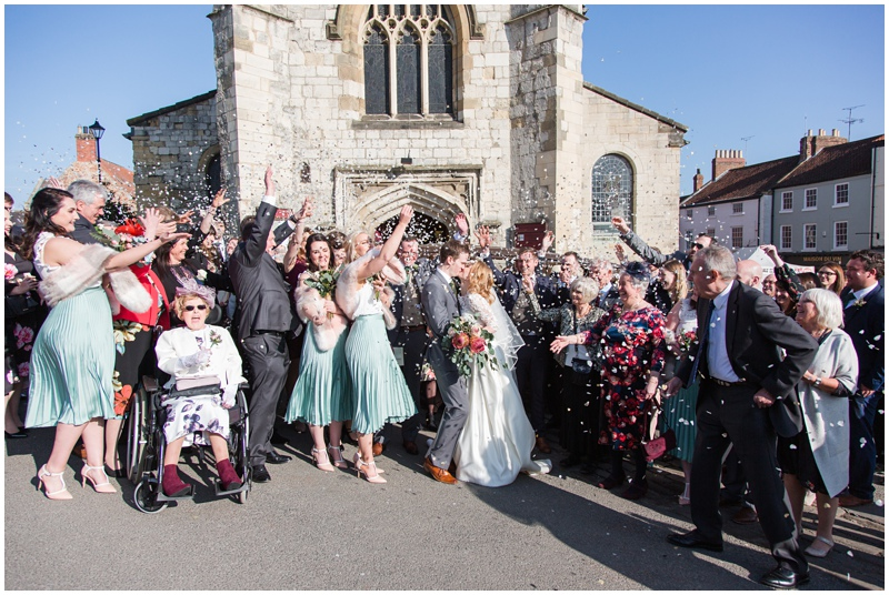 York House Malton wedding