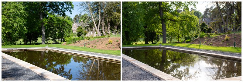 New Lily Pond at Browsholme Hall