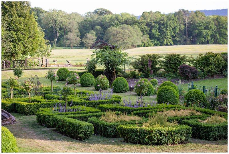 Browsholme Hall Italian Garden