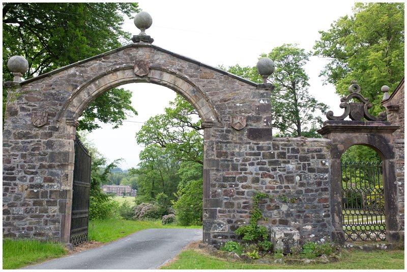 Browsholme Hall entrance