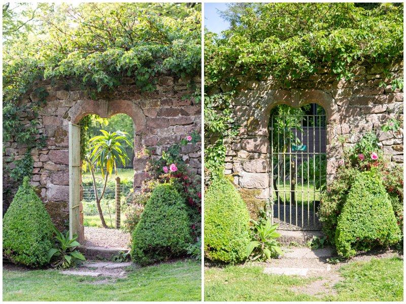 Browsholme Hall romantic gate