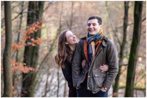 Bolton Abbey Pre wedding Photoshoot – Ashleigh and David