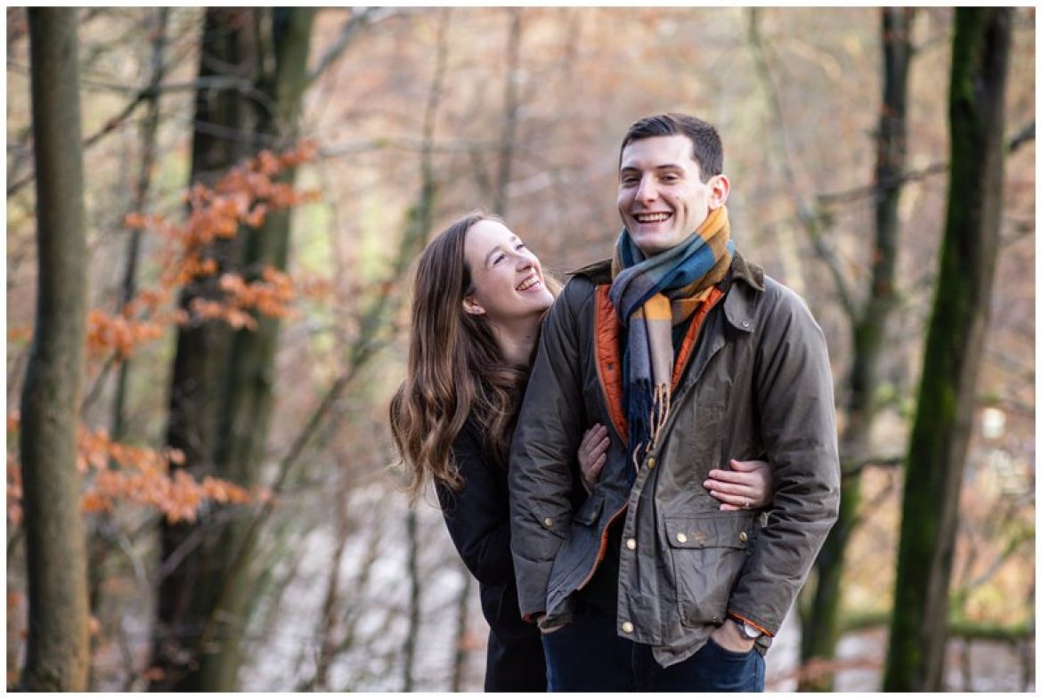 Bolton Abbey Pre wedding Photoshoot – Ashleigh and David