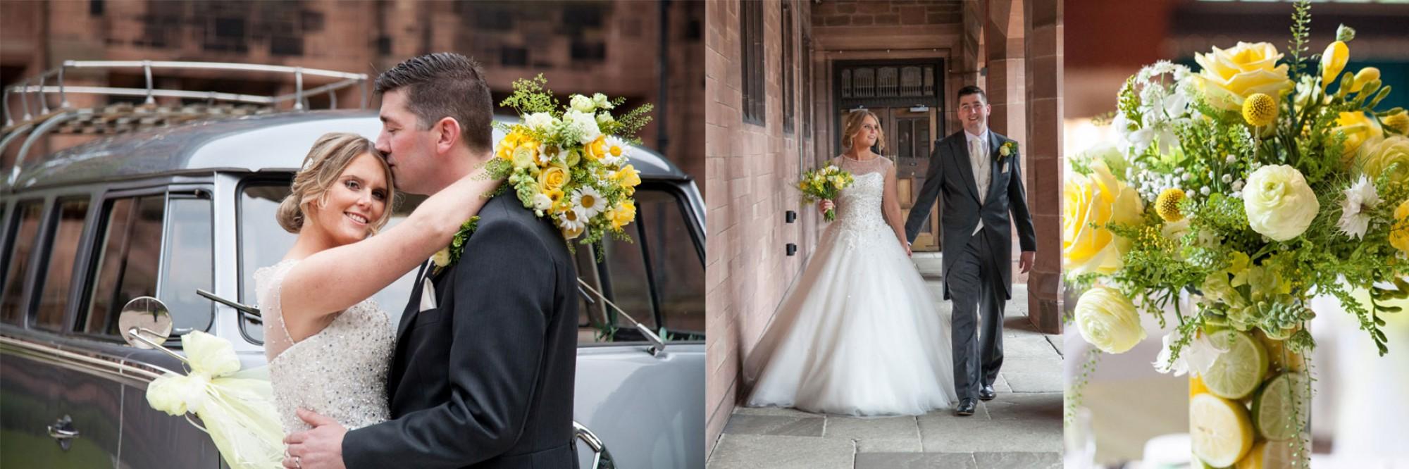 Bolton School Wedding Stephanie and Mark