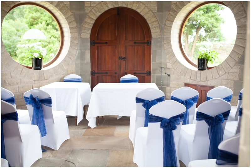 seating inside the dove cote