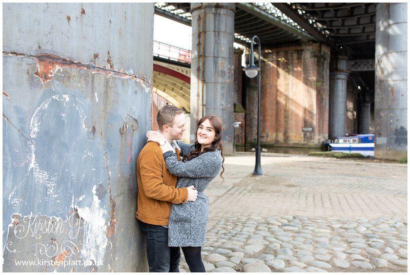 Castlefield Manchester peaky blinders urban photoshoot