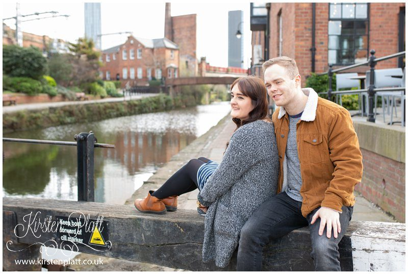 Manchester Castlefield canal urban photoshoot