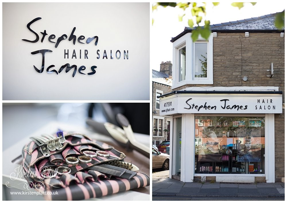 Stephen james Hair salon Morecambe