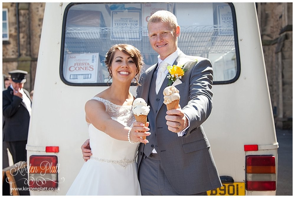 Wallings Real Dairy Ice Cream - wedding ice cream van