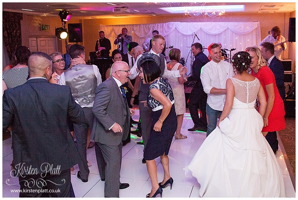 Wedding disco at Barton Grange Hotel
