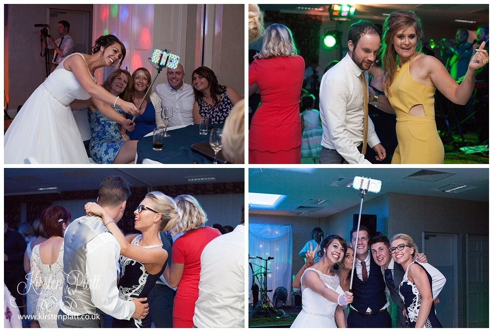 Barton Grange Hotel wedding party