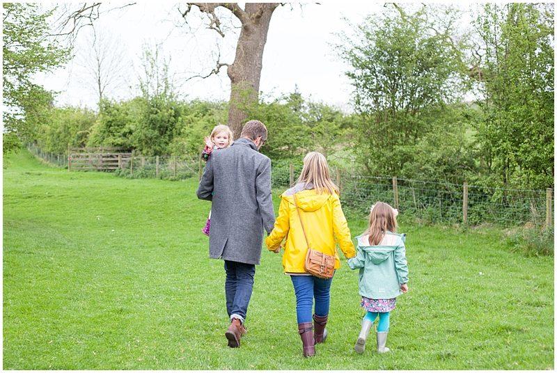 Family stroll near Downham