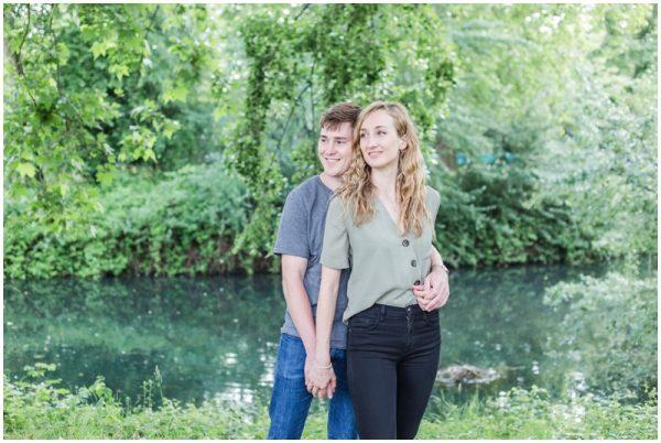 London Pre Wedding Photoshoot Megan and Joe