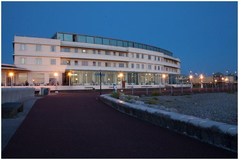 The Midland Hotel at night