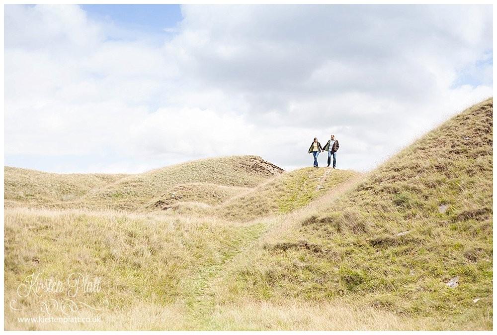 Hurstwood reservoir rolling hills