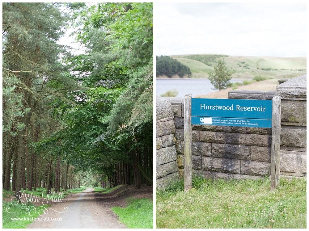Hurstwood Reservoir Worsthorne Burnley
