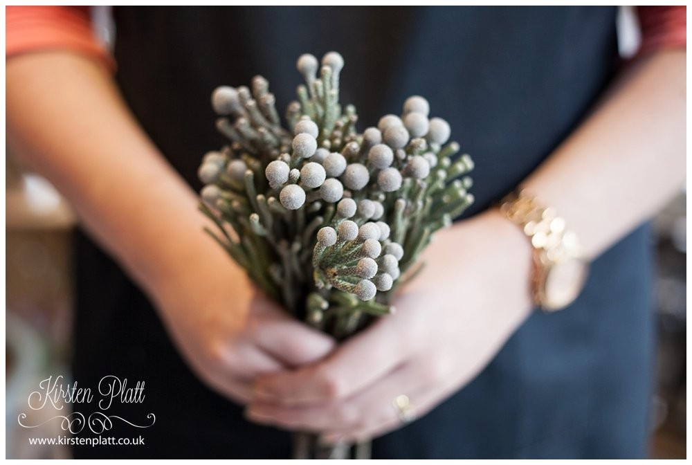 Silver Brunia from Voila Florist Clitheroe