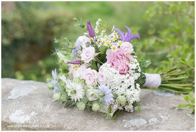 Bloom and Green wedding bouquet