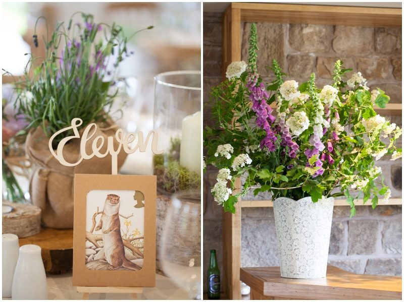 country style flowers