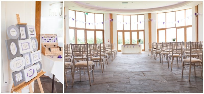 The Out Barn wedding room