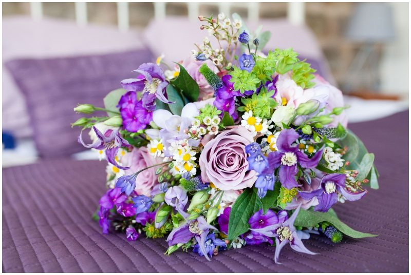 Brides wedding flowers