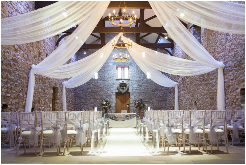 The Tithe Barn at Browsholme Hall