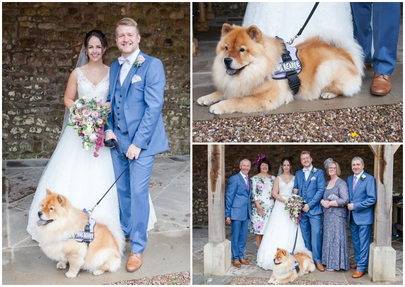 bring your dog to the wedding