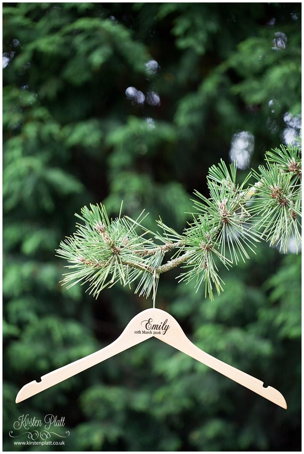 Bespoke and Oak Co personalised coat hangers