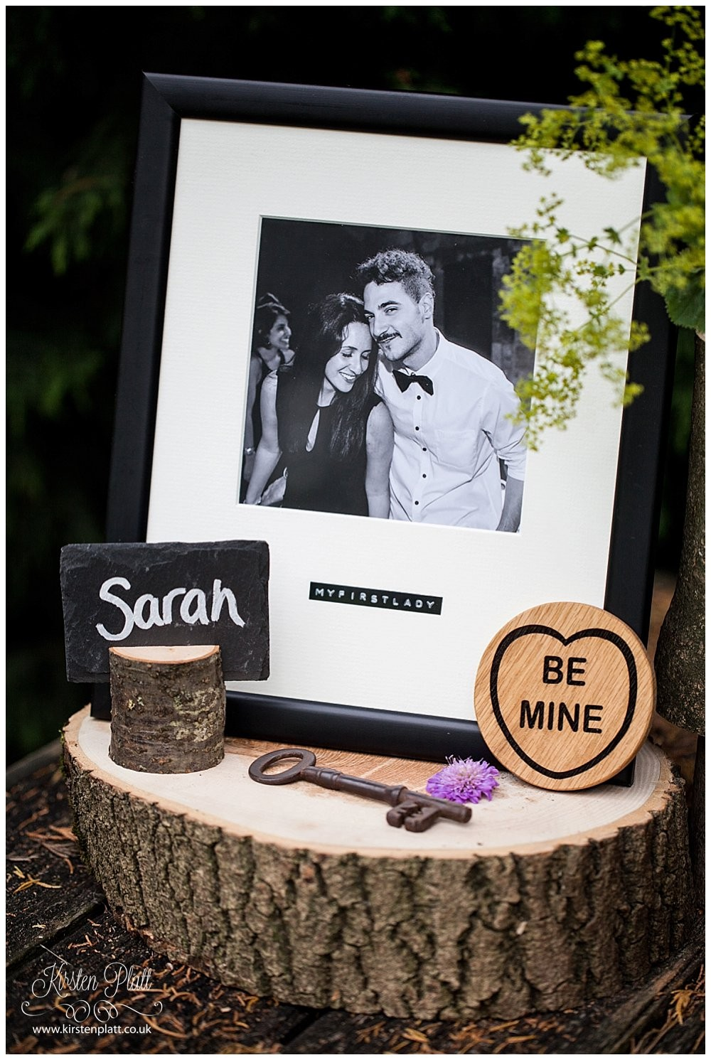 Bespoke and Oak personalised Polaroid inspired picture frames