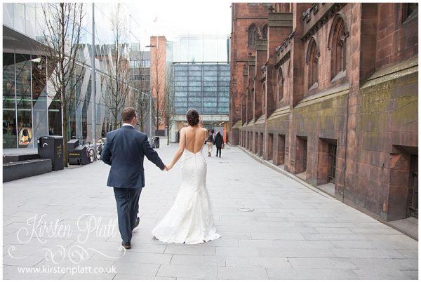Manchester City Wedding Louise & Matt