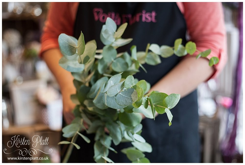 Eucalyptus wedding flowers