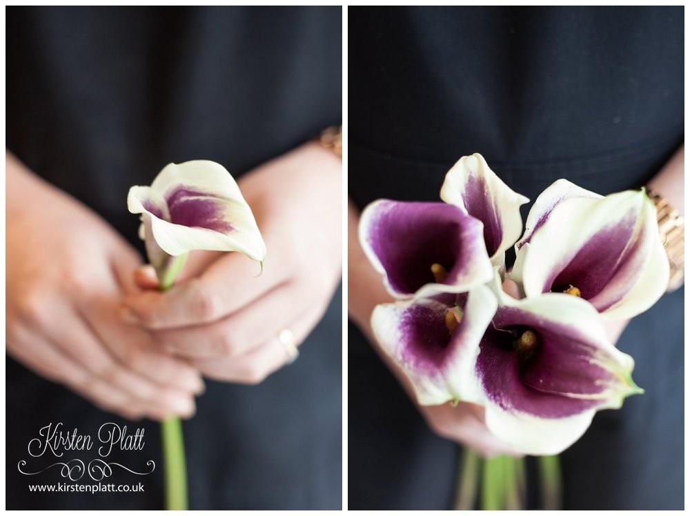 Purple lily perfect wedding flower